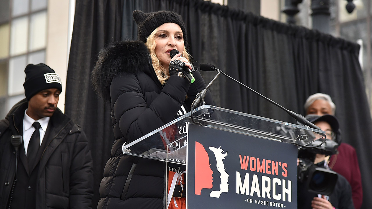 womnen's march madonna